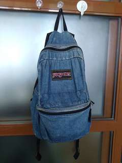 Jansport Soft Denim Backpack