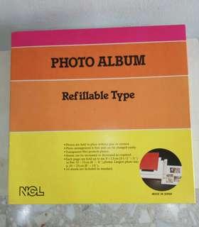 NCL adhesive photo album
