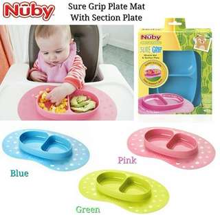Nuby SureGrip Miracle Mat & Plate