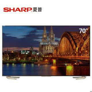 Sharp LCD-70UD30A 4K smart TV