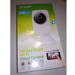 TP-Link HD Day/Night Wi-Fi Cloud Camera (NC260)