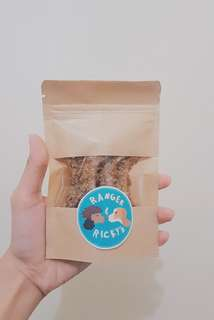 Ranger and Ricky's all natural dog treats (peanut butter and carrots)