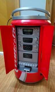 可口可樂 cd cassette radio hifi player