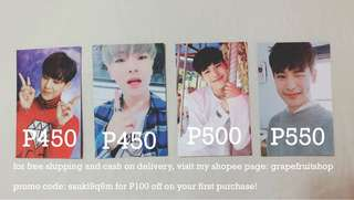 Victon: Byungchan & Hanse Photocards