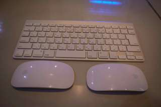 Magic mouse 1 and Apple Keyboard