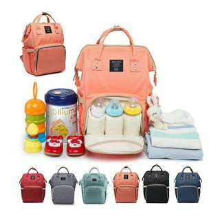 Mummy Backpack Offer  Colour avalaible: Green, Grey n Blue only