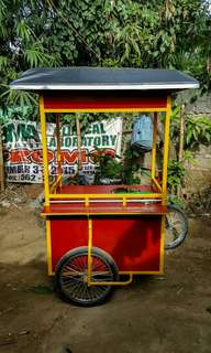 FOOD CART with Bike for Sale