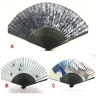 Japanese Traditional Design Summer Folding Fan