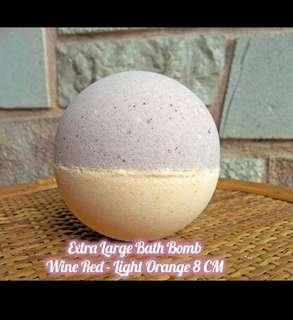 Bath bomb extra large