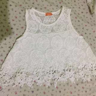 Laced Crop top Repriced