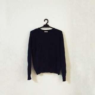 Blue Black Sweatshirt