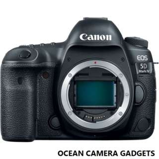 Canon EOS 5D mark IV Camera 5D4 DSLR body (brand NEW with 12 month warranty )