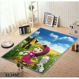 Cartoon Carpet  Size 190*150cm Material Cotton Anti Slip