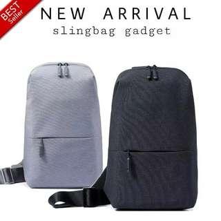 Tas Selempang Pria / Slingbag Gadget Waterproof