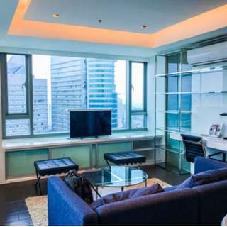 1 bedroom Unit for Rent in Alphaland Makati