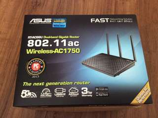 Asus Dual Band Router RT-AC66U Wireless-AC1750
