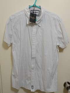 Pepe Jeans London PPJ dotted shirt 白色 波點 裇衫
