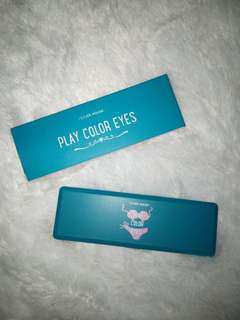 Etude eyeshadow play color eyes beach party