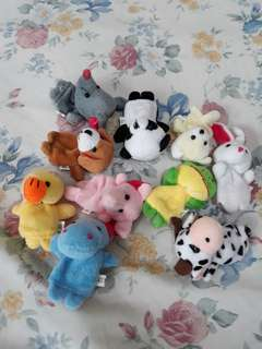 Preloved Animal Finger Puppets