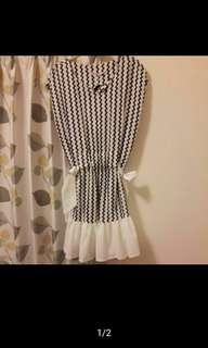 🚚 日系全新可愛花邊洋裝