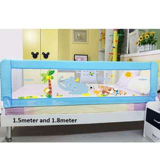 Baby Bed Rail 1.5m 1.8m 2.m size embeded
