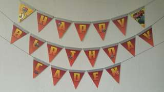 Blaze and the monster machines Birthday Banner Bunting Party Supply