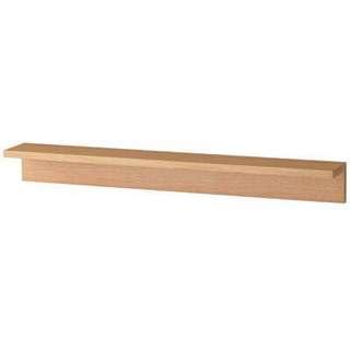 無印良品MUJI-壁掛家具/L型棚板88cm/橡木