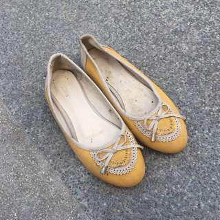 Yellow Doll Shoes