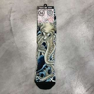 "3 TIES x UBIQ ""IREZUMI"" SOCKS [OCTOPUS]  Designed by UKIYOEMON  ■ SIZE: 25cm - 27cm"