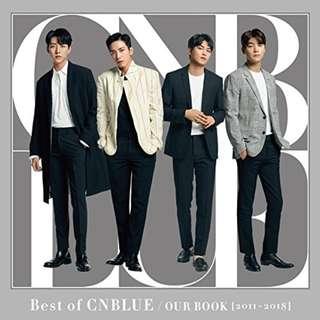 預訂CNBlue Best of CNBLUE / OUR BOOK [2011 -2018]  初回限定盤 CD DVD 日本版 日本代購