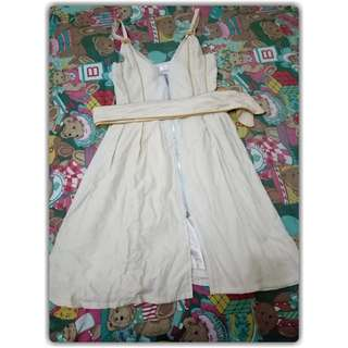 Ivory dress Size M