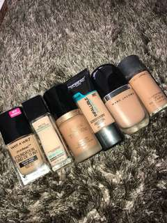 Foundations *all used*