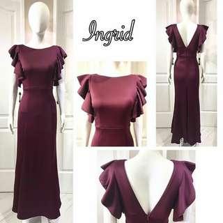 Long Dress ( Ingrid )