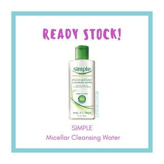 Simple Kind To Skin Micellar Cleansing Water 198 ml