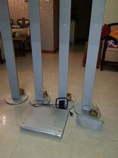 Philips DVD home theatre system