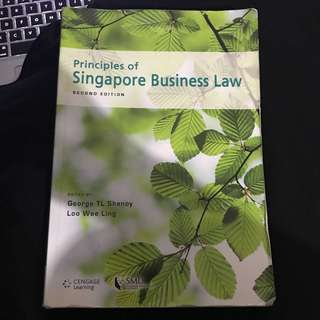 🚚 Principles Of Singapore Business Law
