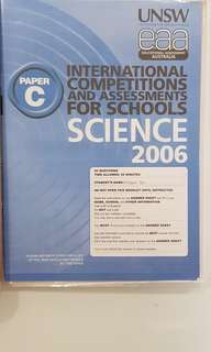 ICAS 2006 Primary 4. - English , Math, Science