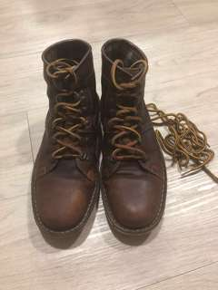 Clark's full leather boots
