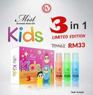 iv mist kids 3in1
