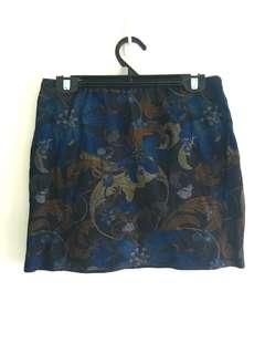 Dotti navy skirt