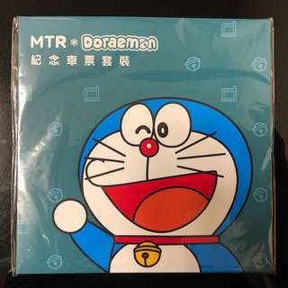 MTR x 多啦A夢 紀念車票