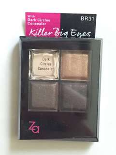 Za killer big eyes eyeshadow