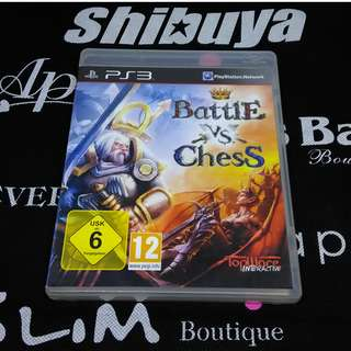 PS3 Game Battle vs Chess