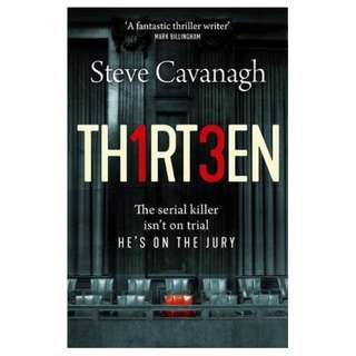 (EBOOK) Thirteen (Eddie Flynn #4) by Steve Cavanagh