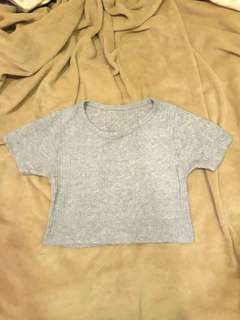 (SALE!!) Ribbed Cropped Top