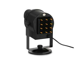blinblin SHOW 1 LED Projector Light with 6 Pattern Slide - (BLACK) (CVAIA-LT447)