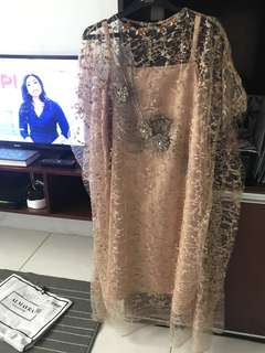 ❣️NEW❣️ ALMAYRA KAFTAN LACE 3D DRESS