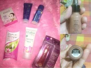 Nyx Drop Foundation, Facial Foam dan Whitening Lotion Hada Labo , Lip Cream , Cleansing Gel & Mask Ovale , Khalisa