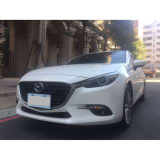 <小馬愛車> 2017 Mazda 3 2.0 白