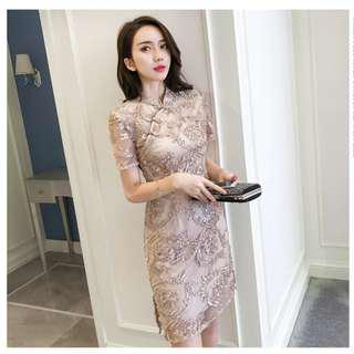 Dress Collection - Improved New Style Cheongsam Elegant Dress